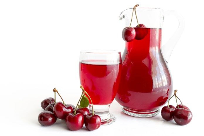Those who suffer after weight-training might want to try drinking cherry juice