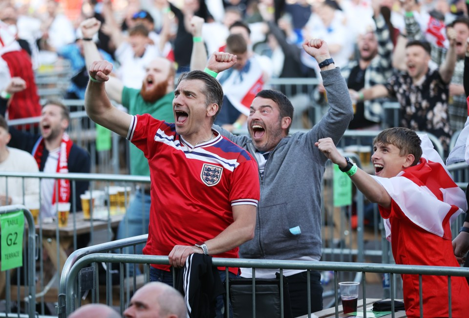 Temperatures are set to soar for Euros games next week