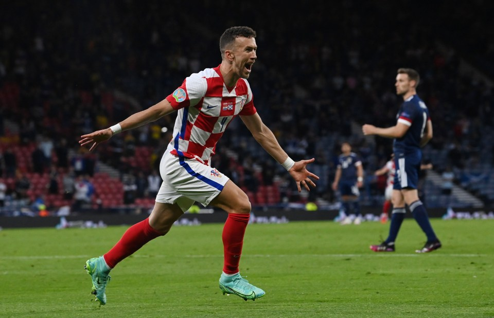 Ivan Perisic will play no part for Croatia against Spain