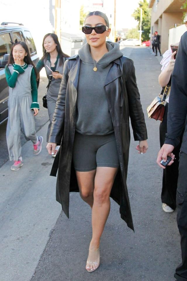 Kim Kardashian is among the stars who recently wore her