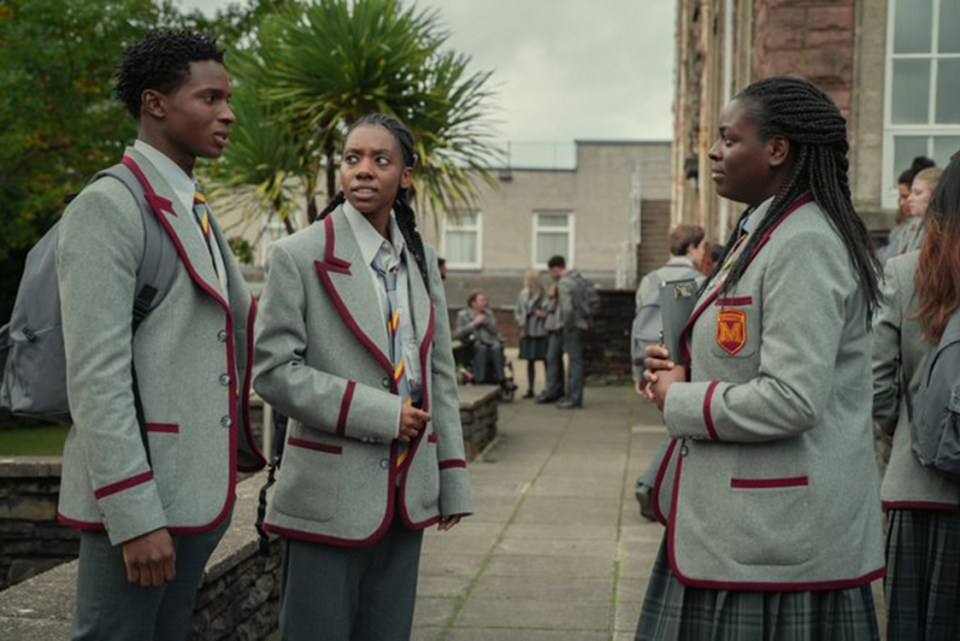 Kedar Williams-Stirling (left) will be back as Jackson Marchetti and Chinenye Ezeudu (right) will reprise her role as Viv