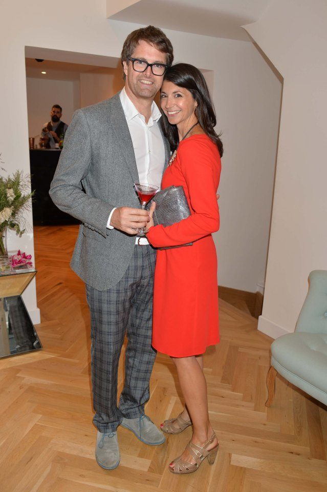 Gina Coladangelo is married to Oliver Tress