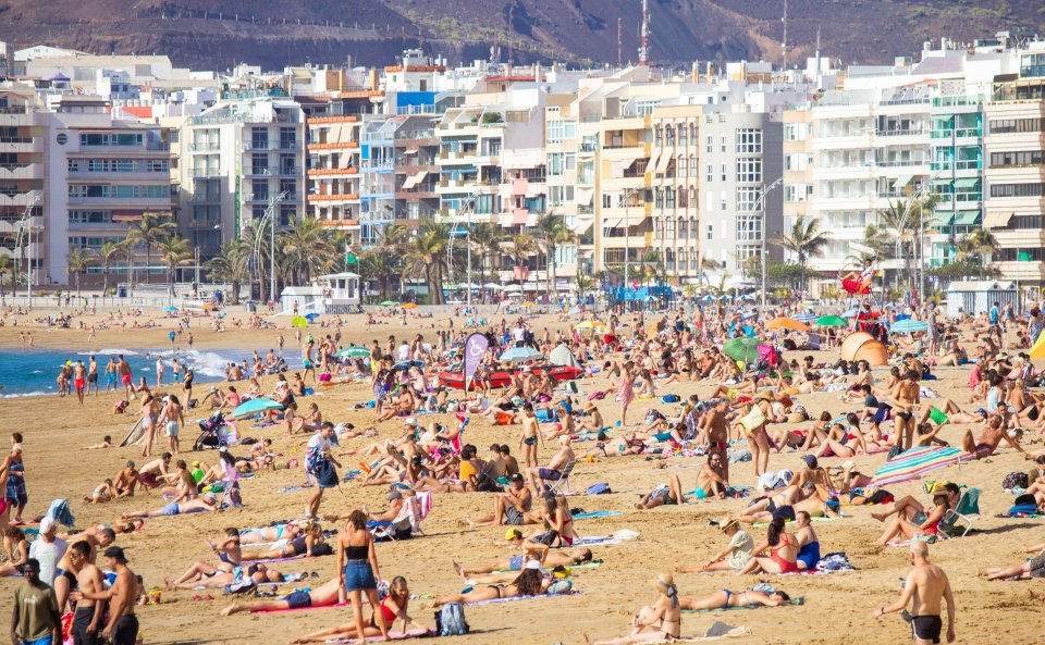 The islands is a popular hotspot for Brits looking to set some sunshine and R&R