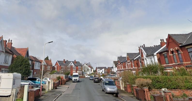The couple were found shot dead at the home in Dinorwic Road, Southport