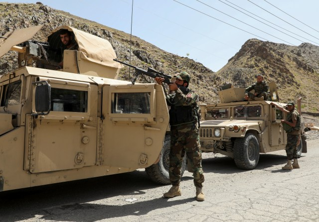 Afghan forces reportedly feel abandoned as the West pulls back its troops