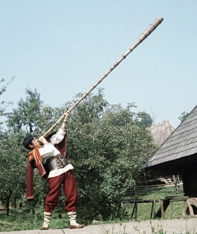 Ukraine has the world's longest musical instrument