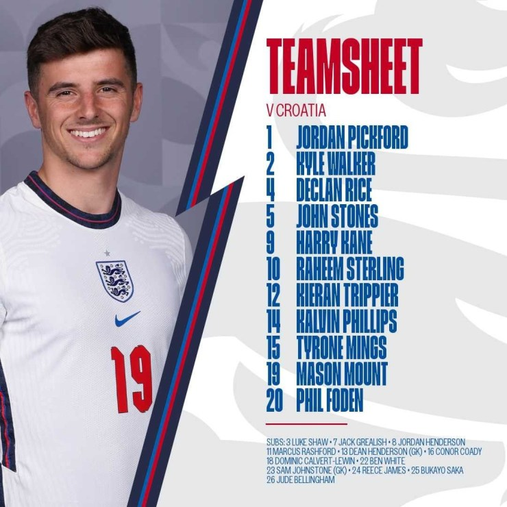 The England team has raised eyebrows among fans