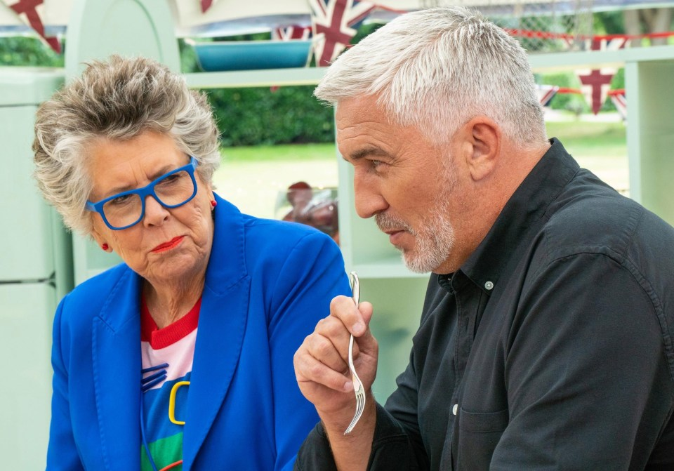 Paul Hollywood regularly jokes about Prue Leith only writing porn - not literature, as she claims