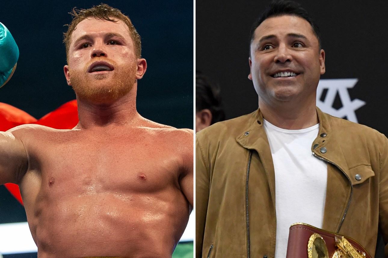 Oscar De La Hoya says he will knock out Canelo Alvarez. Video