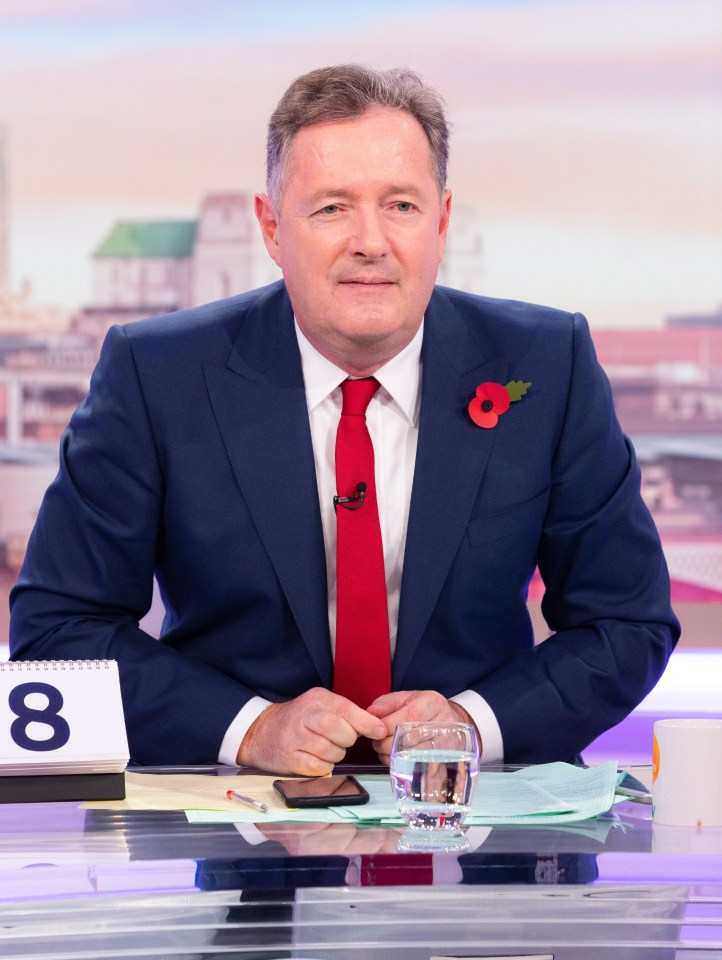 """Piers Morgan has slammed those who have refused the vaccine as """"ignorant morons"""""""