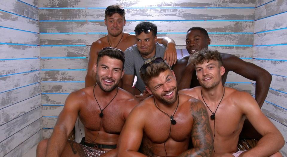 The Love Island boys are a flirty bunch