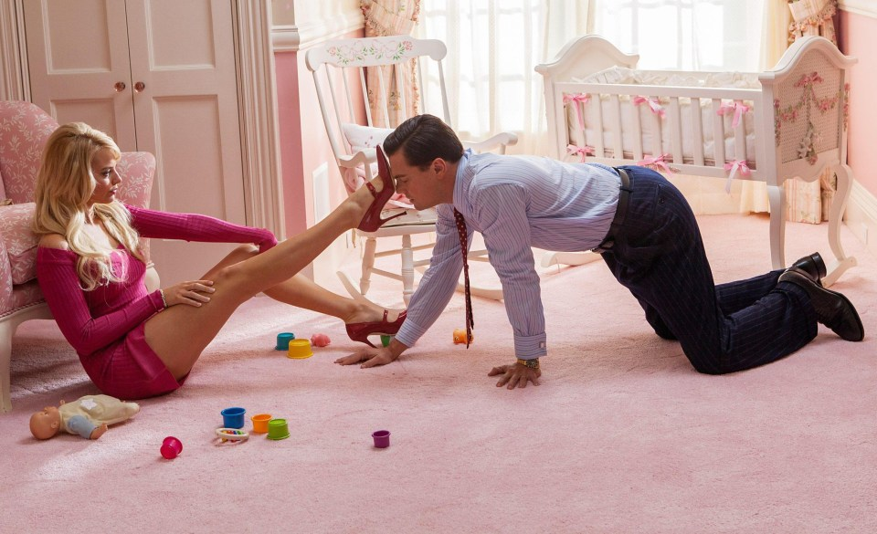 Margot Robbie plied herself with tequila before filming The Wolf of Wall Street sex scenes