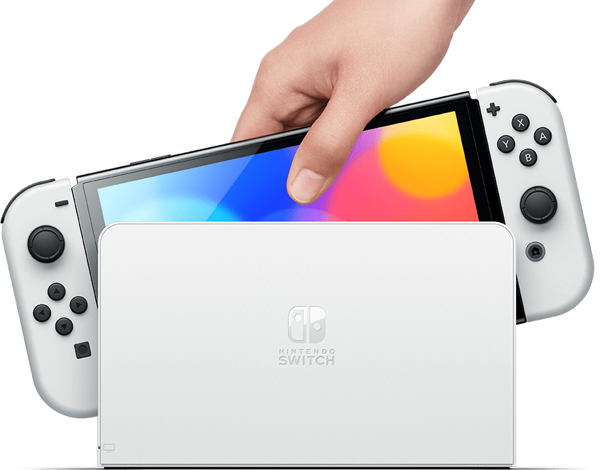 Say hello to the Nintendo Switch OLED Model