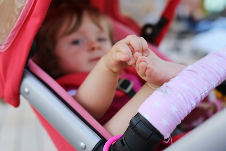 Experts have warned that the hack could cause the pram to become too hot (stock picture)