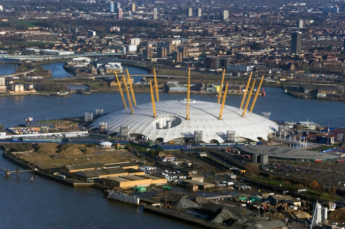 The Millennium Dome could have been turned into a tribute to Princess Diana, classified files reveal