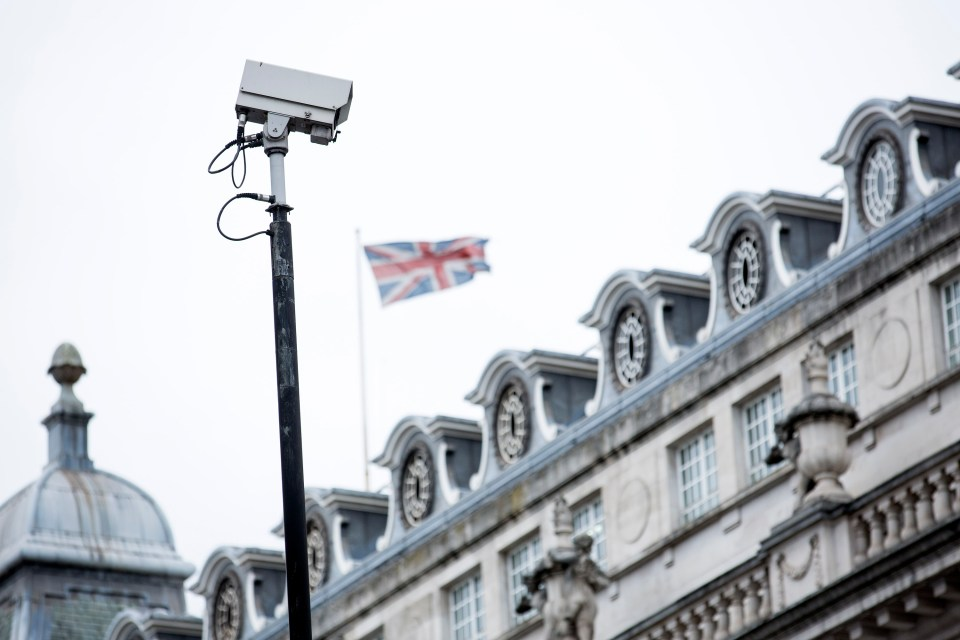 Chinese state-backed surveillance cameras have been installed in UK government buildings