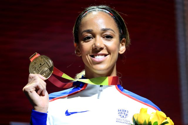 Johnson-Thompson is going for glory in the heptathlon