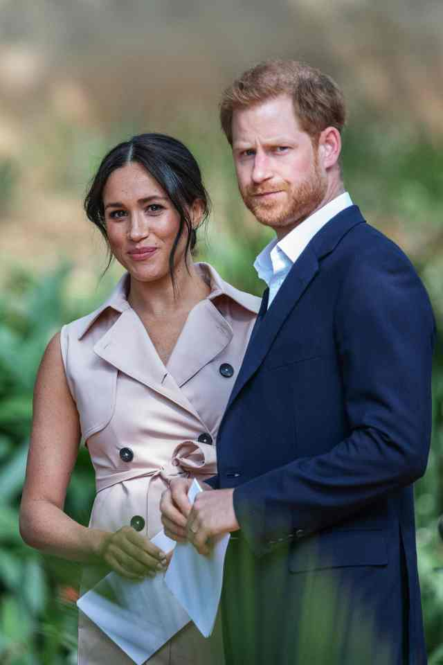 Harry's Oprah interview with Meghan accused the Royal Family of racism