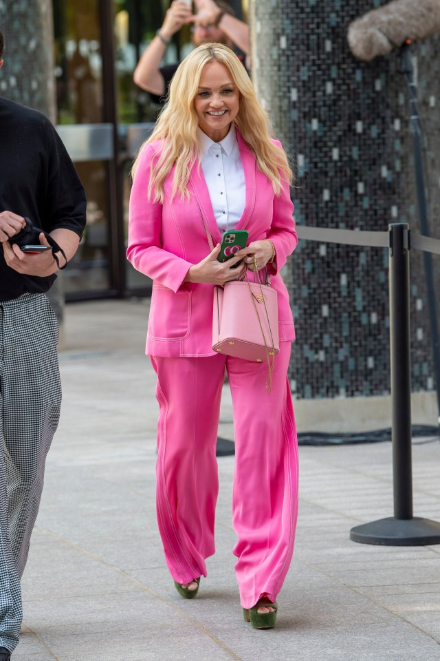 Spice Girl Emma Bunton has also opened up about her experience