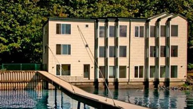 Engineer Volodymyr Kvashuk used his ill-gotten games to buy a $1.675million house on Lake Washington with a boat dock
