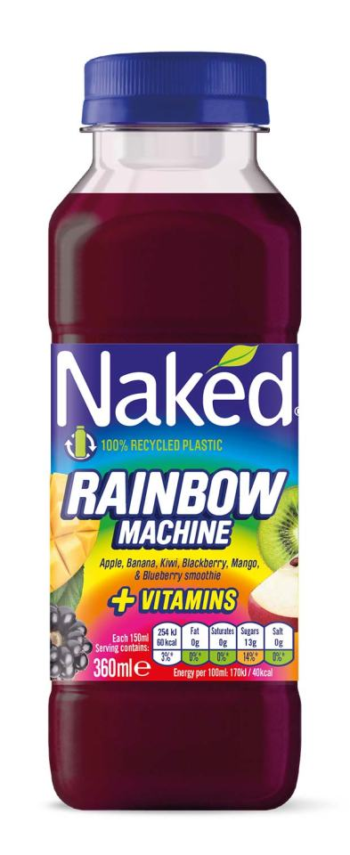 Naked rainbow smoothie is just £2 at Asda