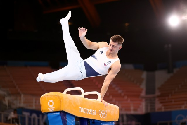 Max Whitlock goes for gold again in the pommel horse