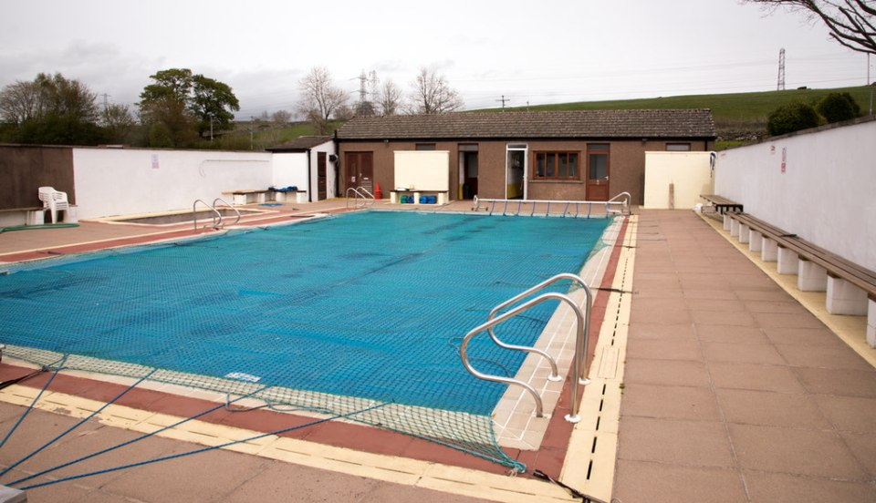 Don't worry about bad weather as the outdoor pool is heated all summer