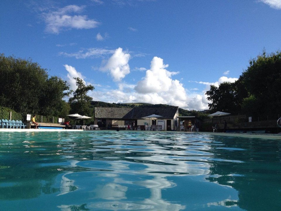The Changford pool is the largest one fed by the river in the south west
