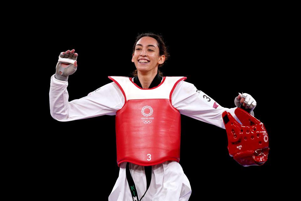 Kimia Alizadeh stunned Jade Jones in Olympic Taekwondo