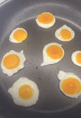 But some TikTok users warned the cooking tip risked food poisoning
