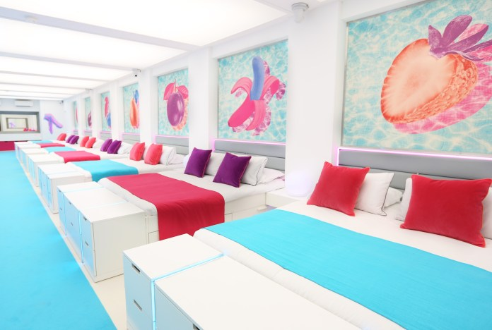 The Love Island villa is known for its huge bedroom with doubles for each couple