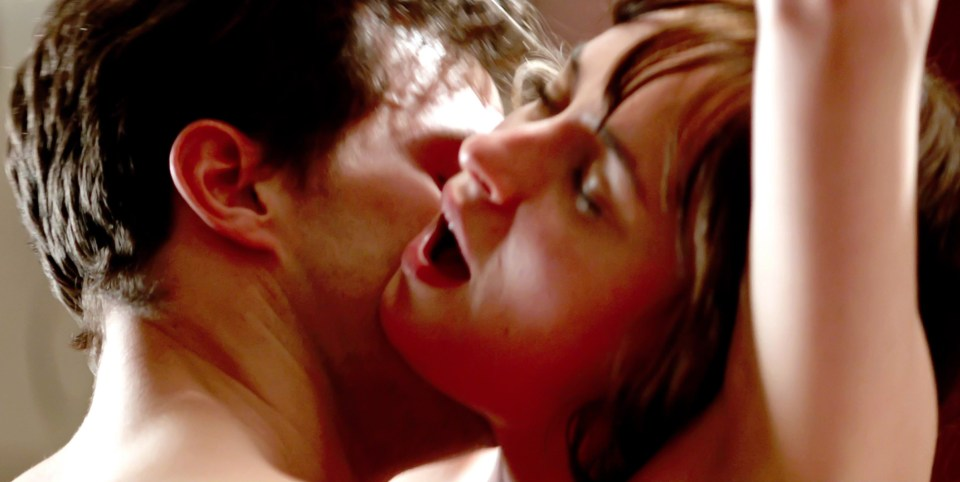 Jamie Dornan used a 'flesh-coloured bag' in Fifty Shades that was 'like a little bag of grapes'