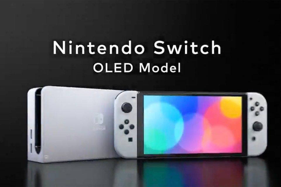 The new Nintendo Switch OLED was unveiled in a surprise announcement online