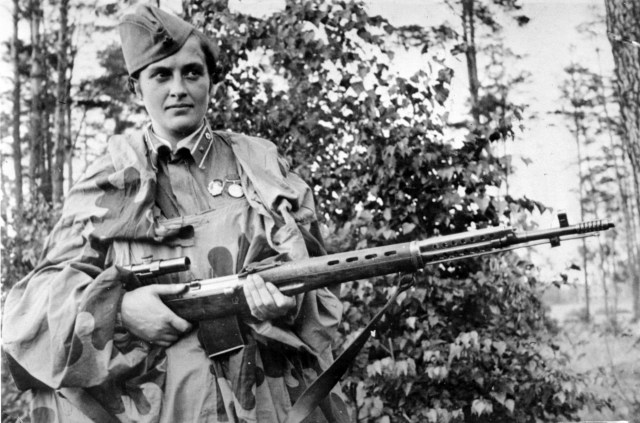 Lyudmila Pavlichenko was given the nickname Lady Death because of her formidable kill streak