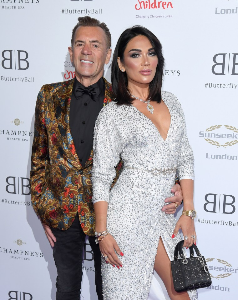 Nigora and Dragons' Den star Duncan have been married since 2017