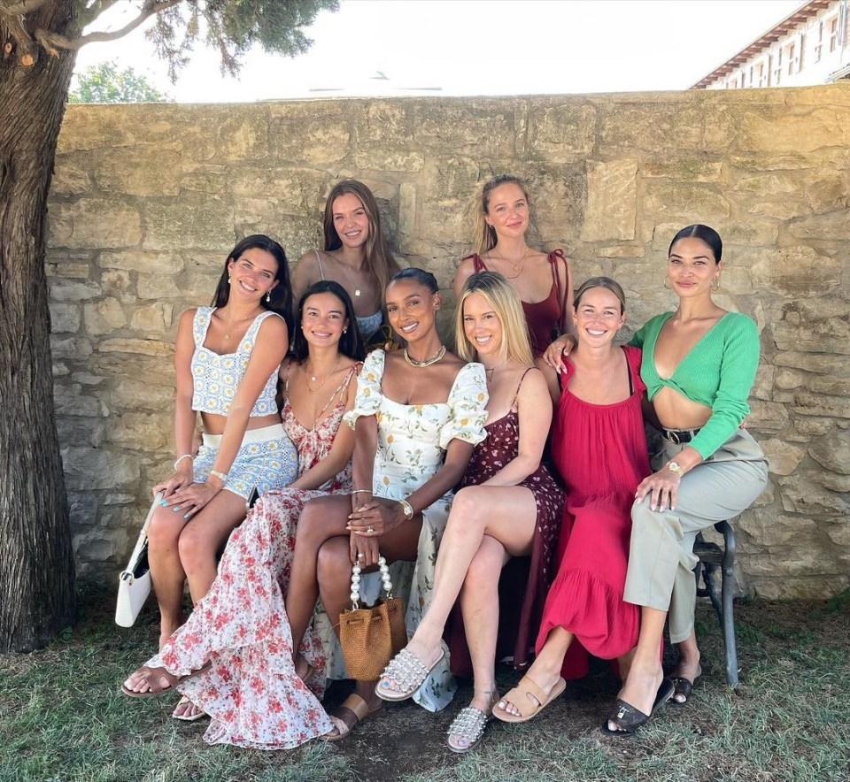 Jasmine threw a glam hen do in Dubrovnik, Croatia, with model pals including Josephine Skriver, Lais Ribeiro, Shanina Shaik and Sara Sampaio