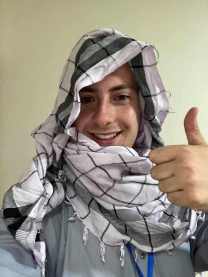 مايلز روتليدج ، 22 عامًا ، محاصر في كابول بينما تسيطر طالبان