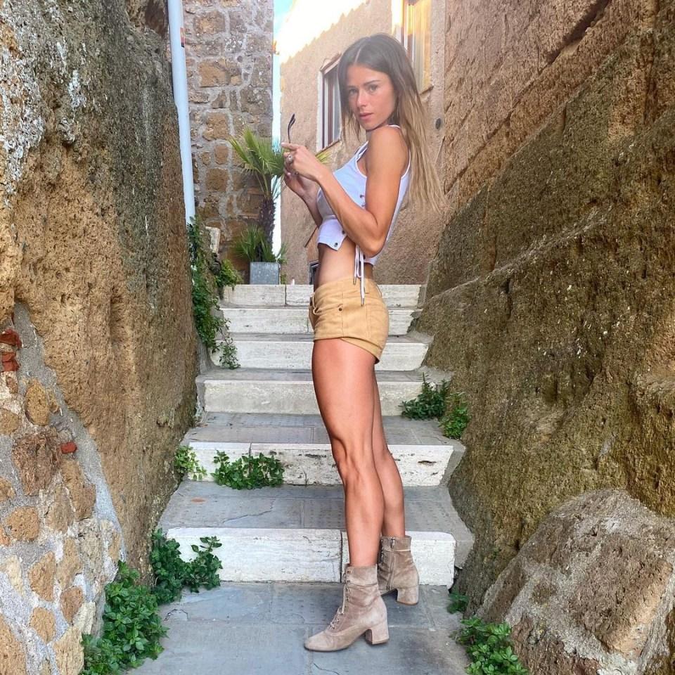 Giorgi boasts almost half a million Instagram followers