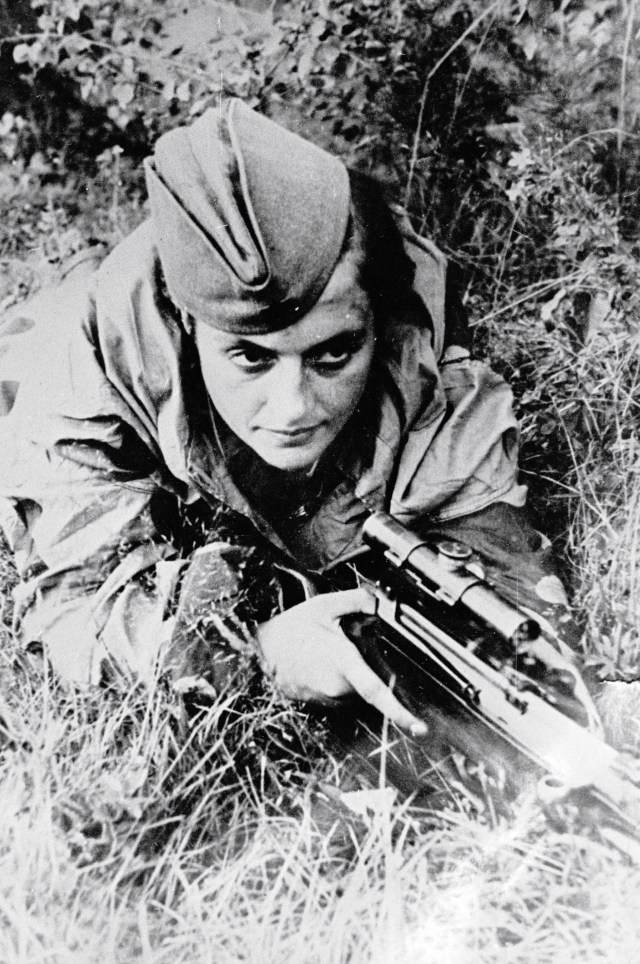 The sniper clocked up 309 kills, making her the most successful female sniper in history