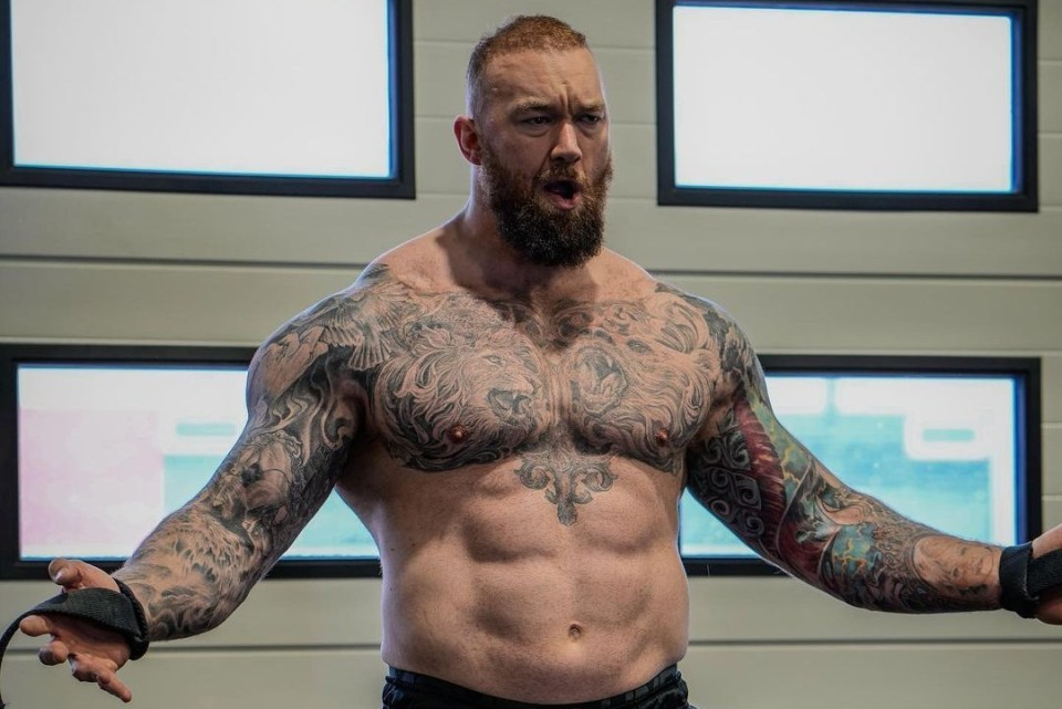 Hafthor Bjornsson keen on fighting Tyson Fury after Eddie Hall but admits  he'd 'get his a** beaten' by heavyweight champ -