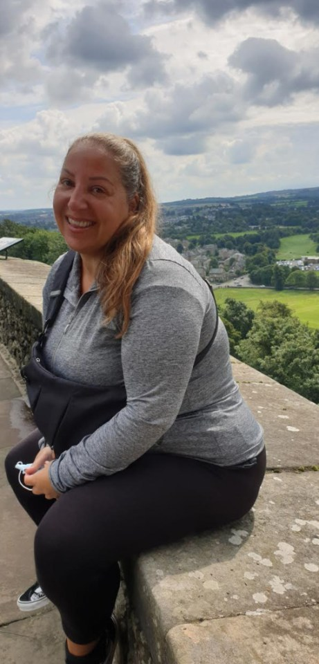 Chantel said: 'I've had weight problems for more than half my life but it hasn't affected my health'