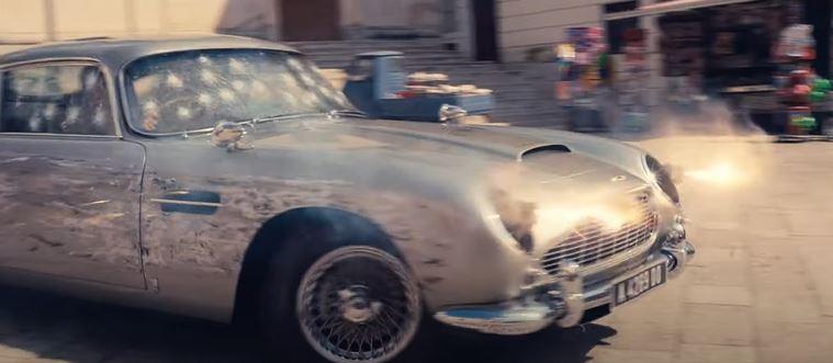 Bond fans will soon see Daniel Craig behind the wheel powersliding round Donut Square