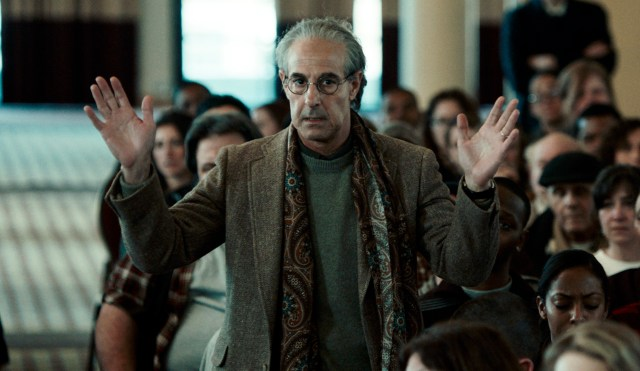 Stanley Tucci and Michael Keaton star in this important watch