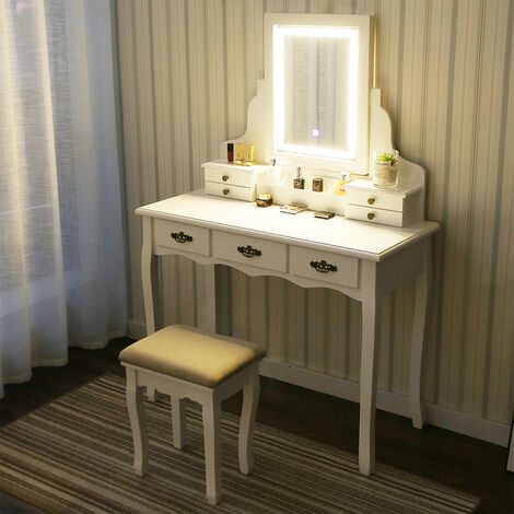Feel like a star with this dressing table which is down a whopping £224
