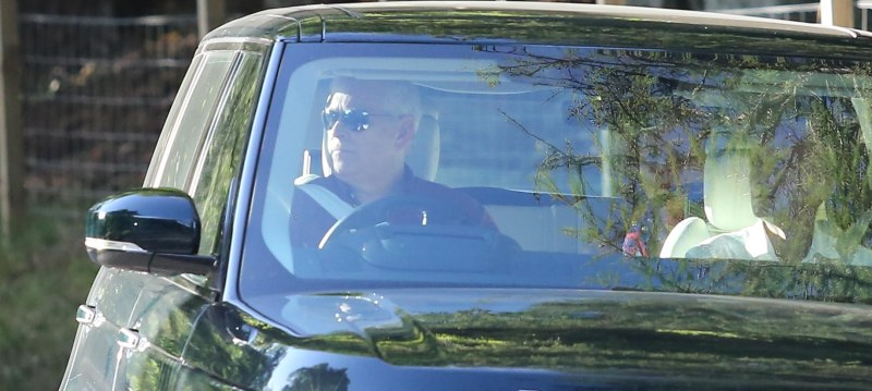 The 61-year-old headed for Balmoral with his ex-wife Sarah Ferguson