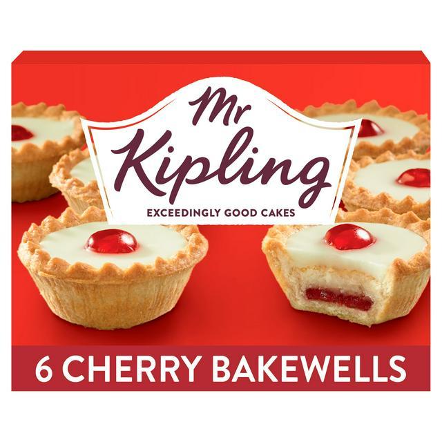 Mr. Kiplings popular bakewell tarts are half-price