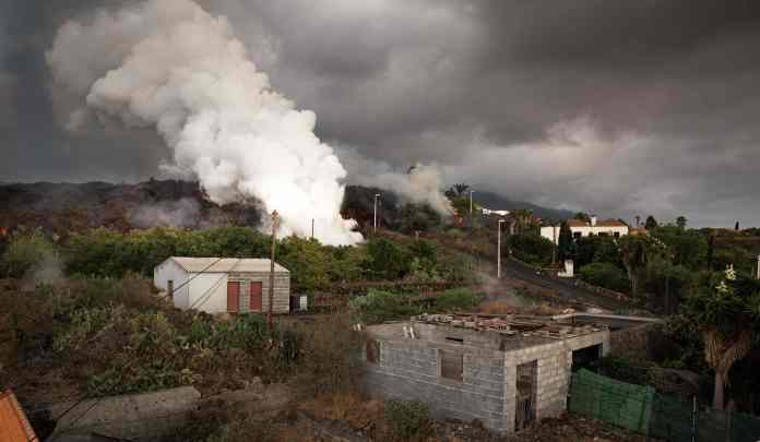 It is feared that the eruption may continue for weeks to come