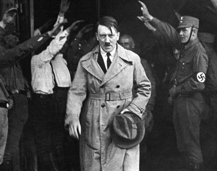Adolf Hitler's combat campaign involved firing a V2 terrorist rocket at 3,300 mph into England