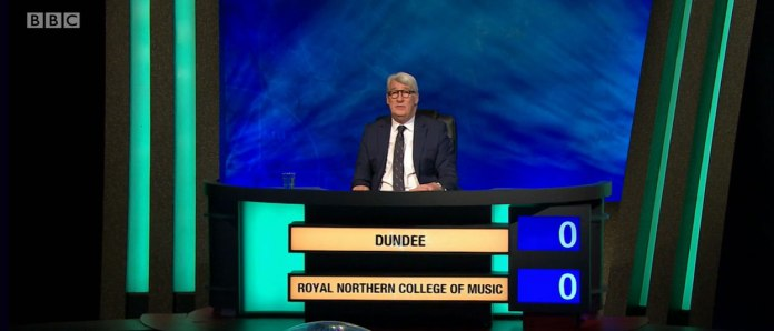 This quiz airs every Monday on BBC Two