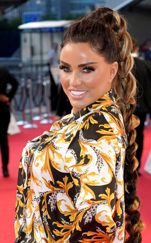 Katie Price appears in court on charges of crimes